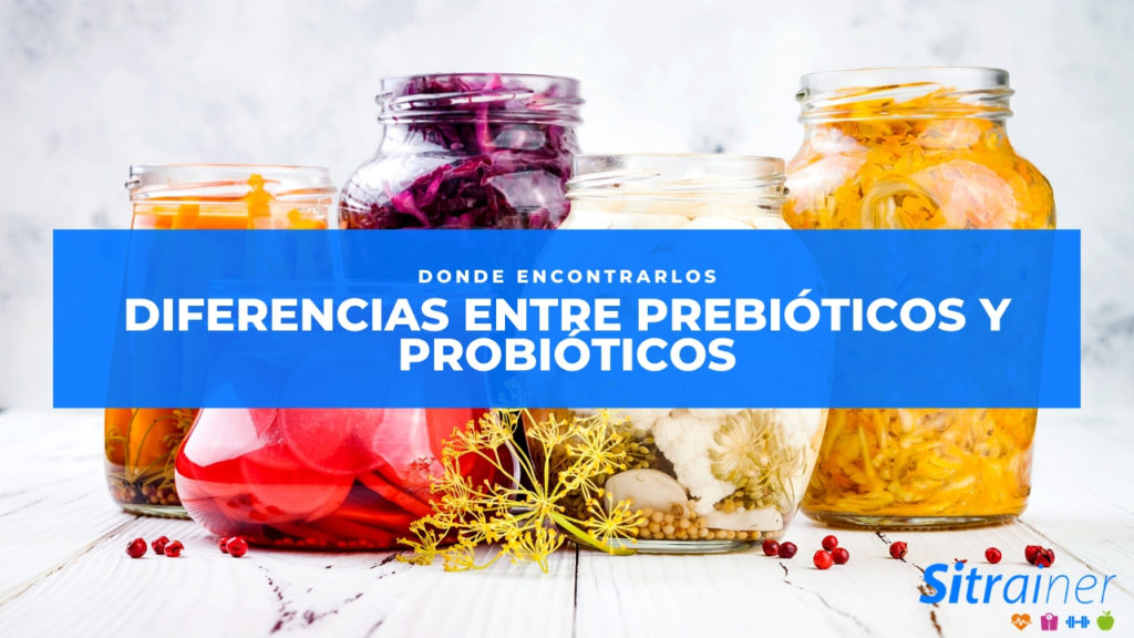 Diferencias entre prebióticos y probióticos