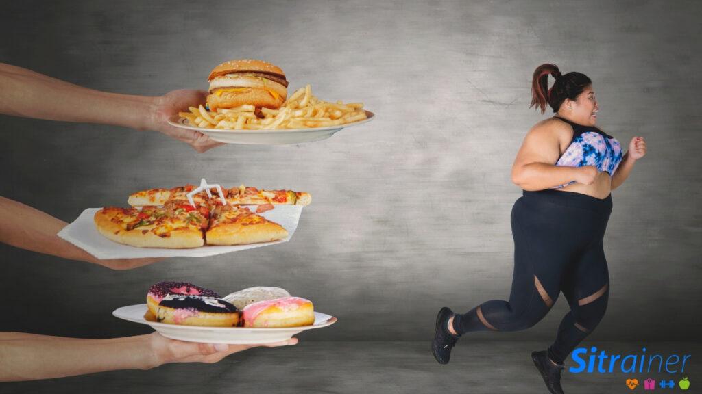 Acabar con la grasa acumulada a través de la alimentación