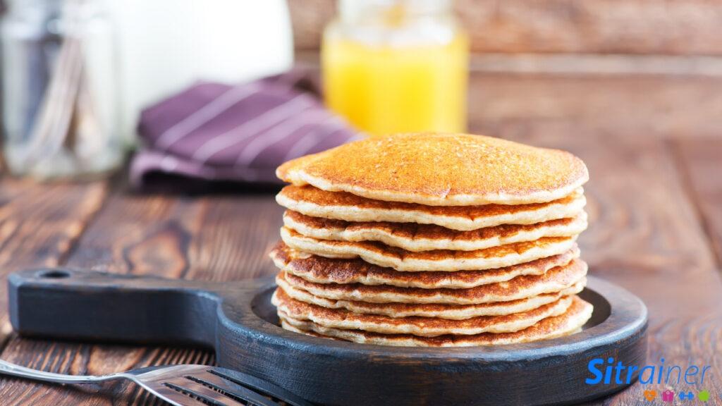 Esponjosas tortitas veganas, delicioso postre o desayuno vegano