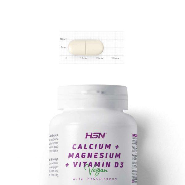 calcium magnesium vitamin d3 120 tabs bottle hsn 1