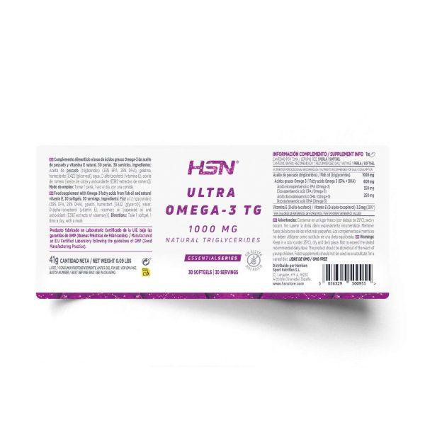 ultra omega 3 30softgels tg label hsn 1