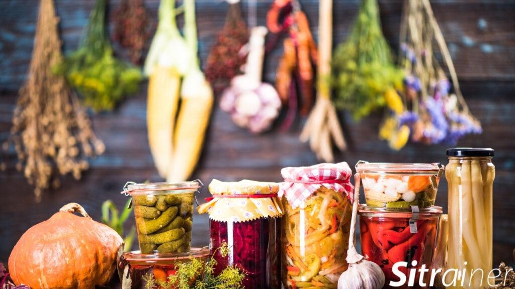 Consume alimentos fermentados