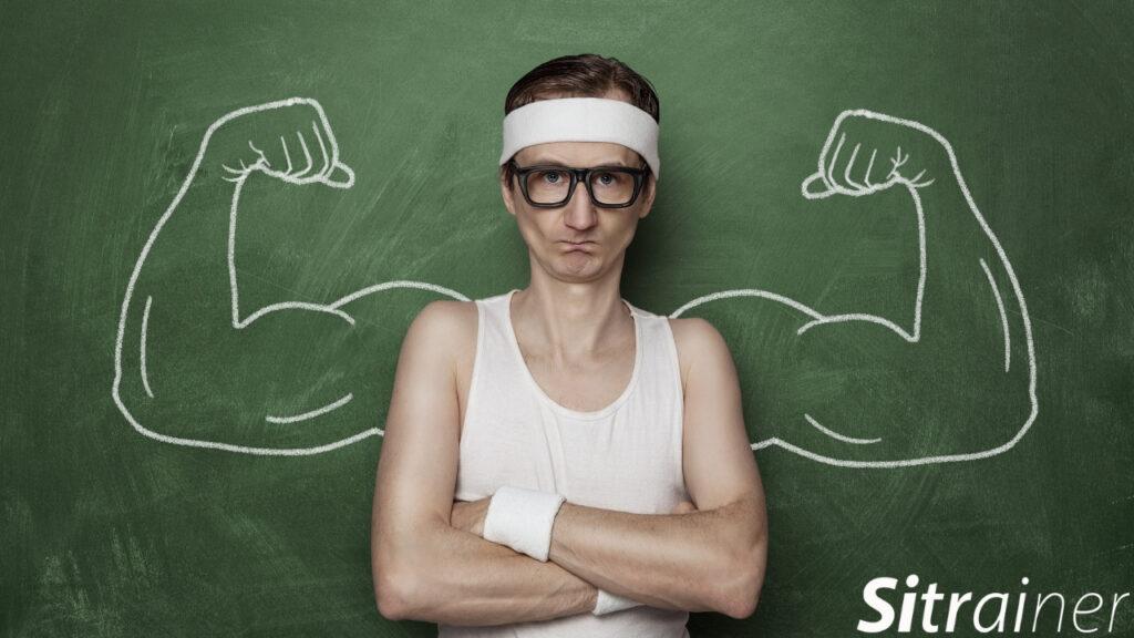 Músculos pocos fortalecidos