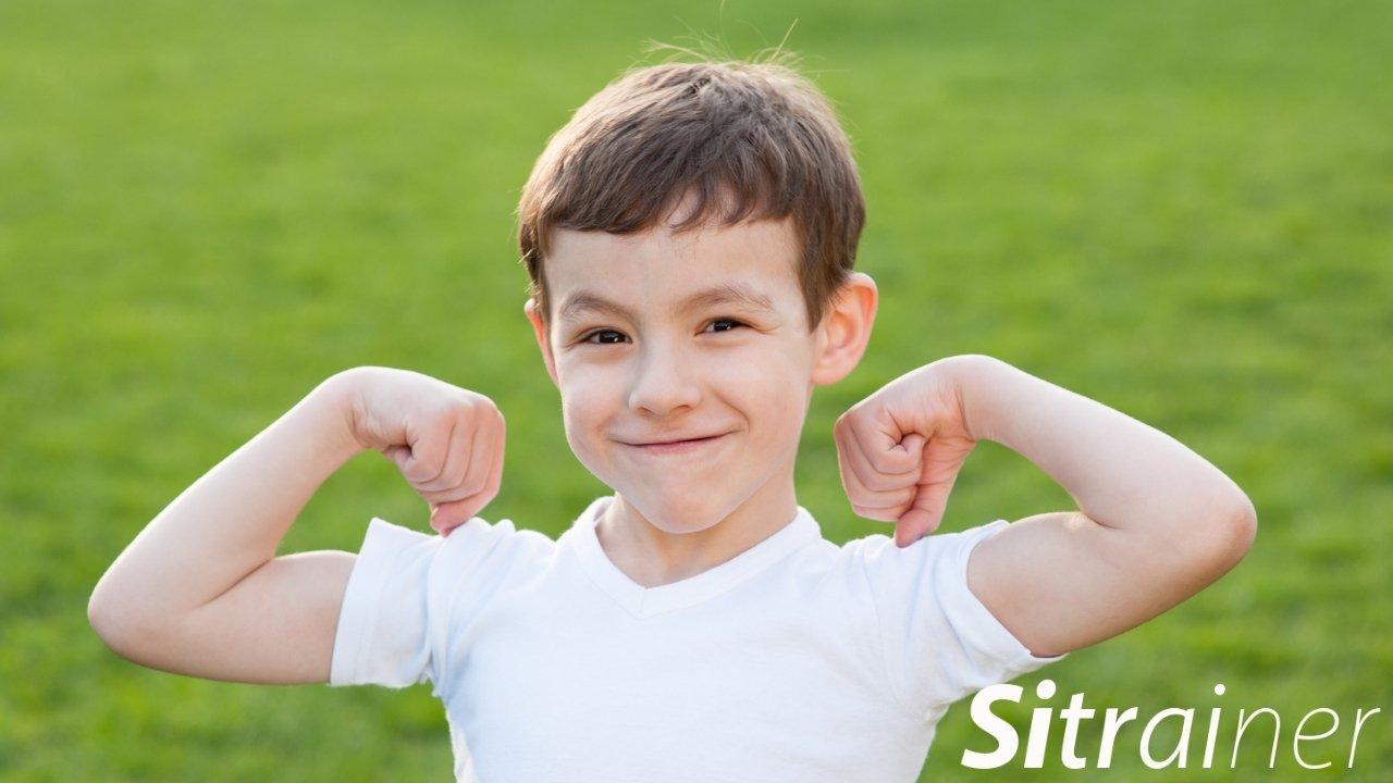 Las actividades físicas que no son competitivas ayudan a los niños
