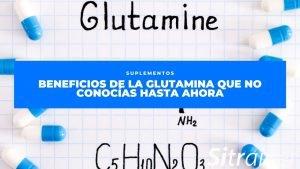 Beneficios de la glutamina que no conocías hasta ahora